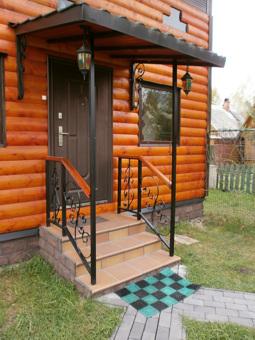 крыльцо к деревянному дому фото